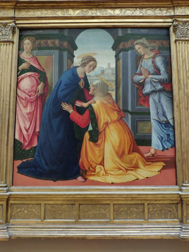 Paris Louvre - Renaissance painting