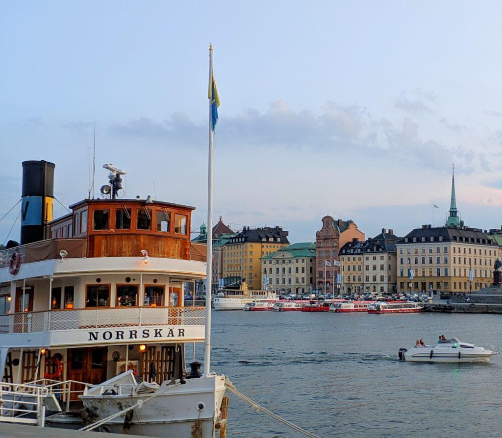 Stockolm Port - Sweden, Scandinavia