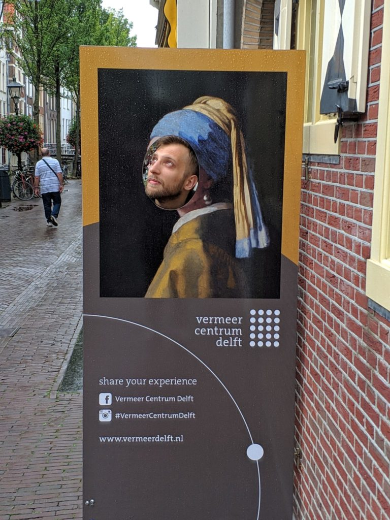 "Artur in ""Guy with a Pearl Earring"""