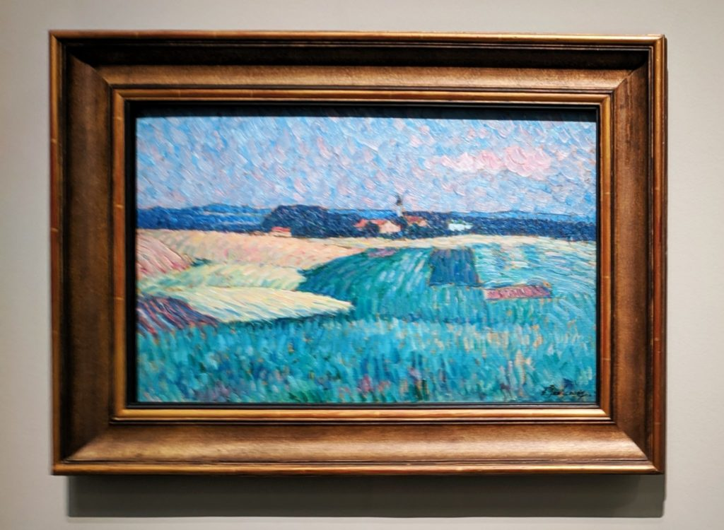 Village in Bavaria circa 1907 by Alexej von Jawlensky