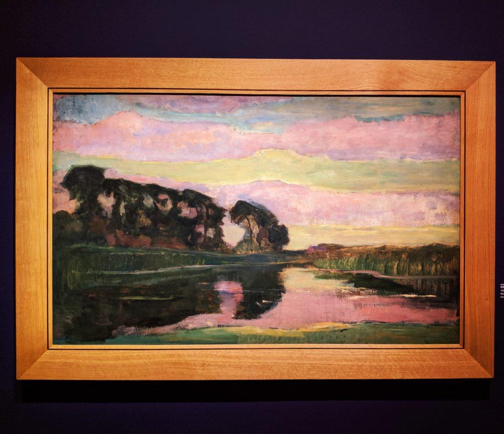 Mondarian's landscape in Paris