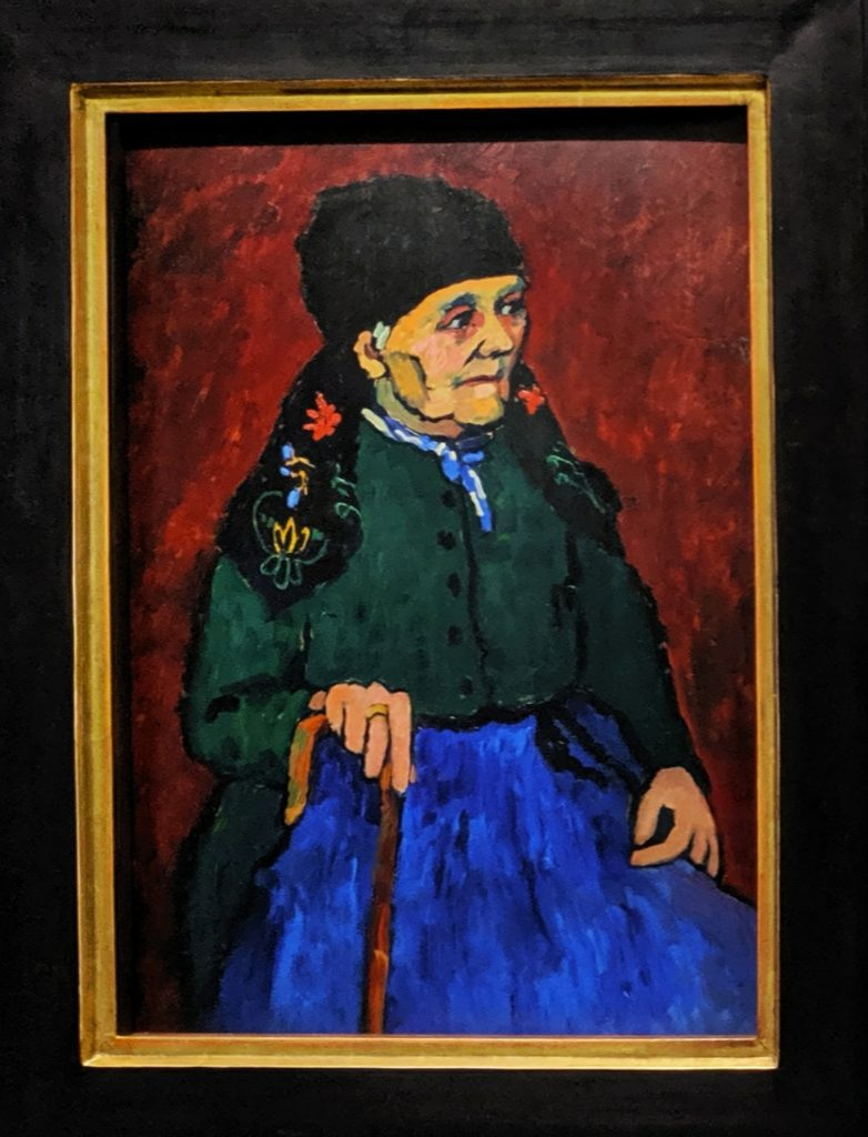 """Woman from Murnau"", Gabriele Münter"