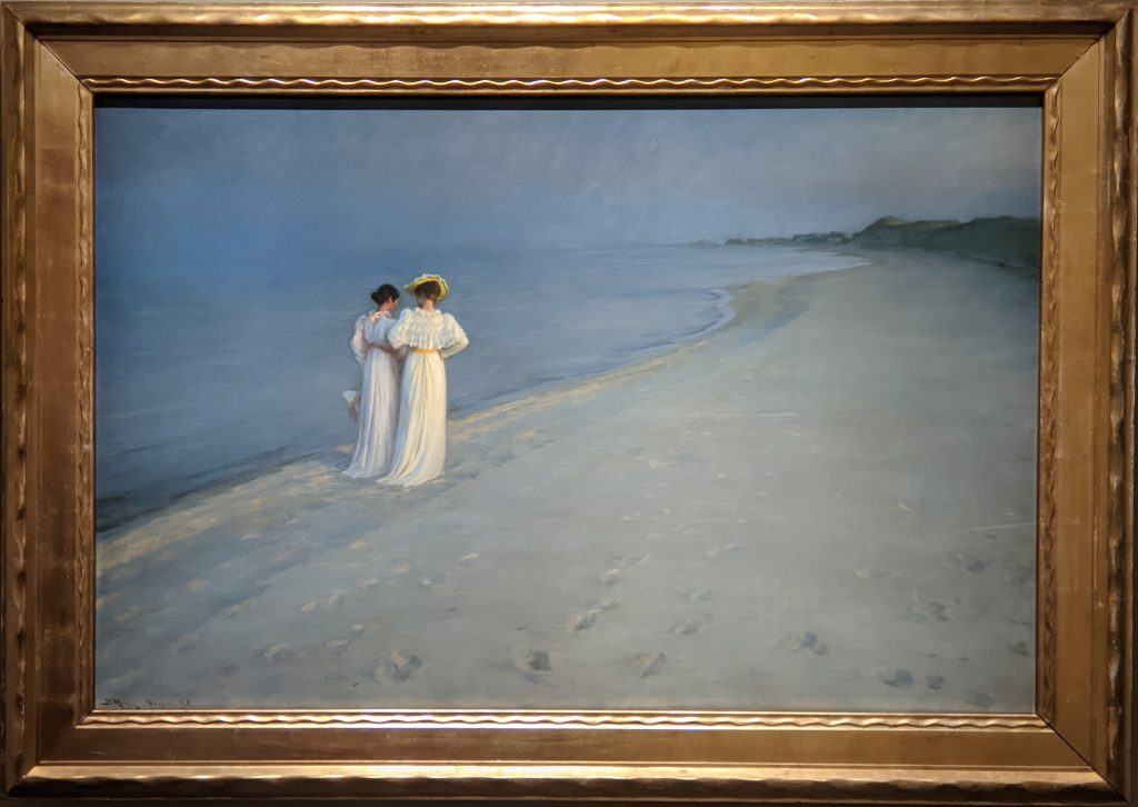 Paris Museum, Summer Afternoon on the South Beach at Skagen