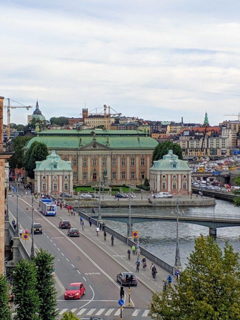 Green building in Stockholm