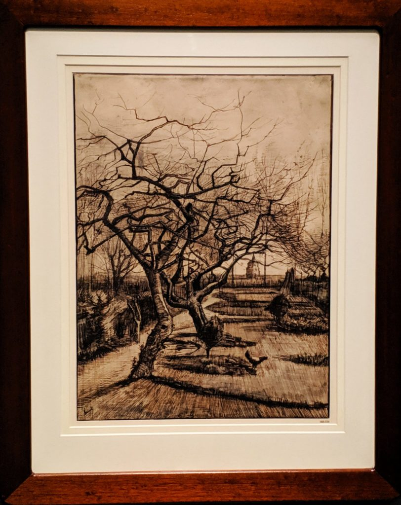 "van Gogh's ""The Parsonage Garden at Neunen in Winter"""