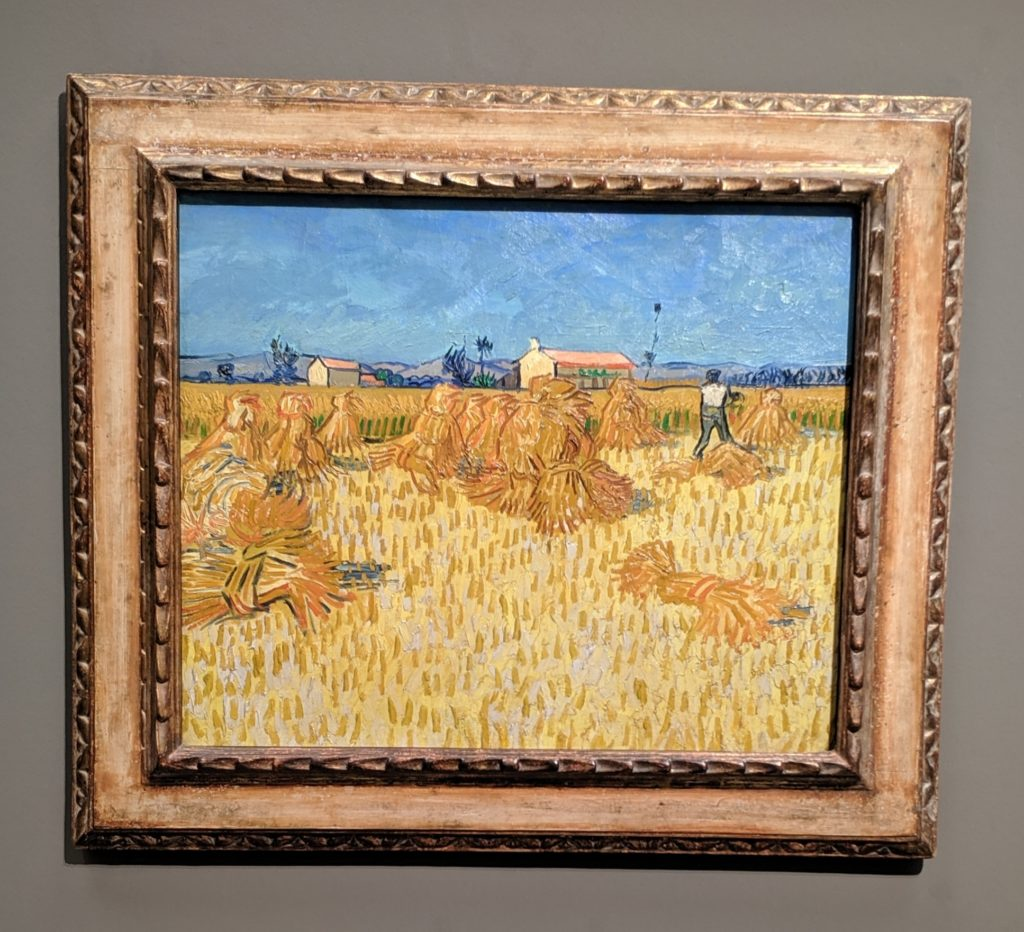 Van Gogh Harvest in Provence
