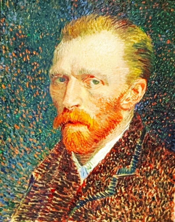 "1887 ""Self Portrait"" by van Gogh."