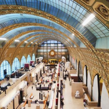 d'Orsay museum view