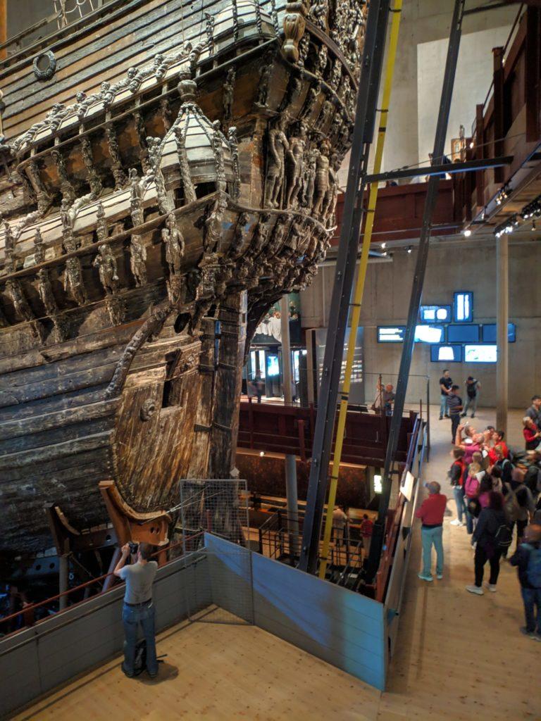 The rear site of the Scandinavian Vasa