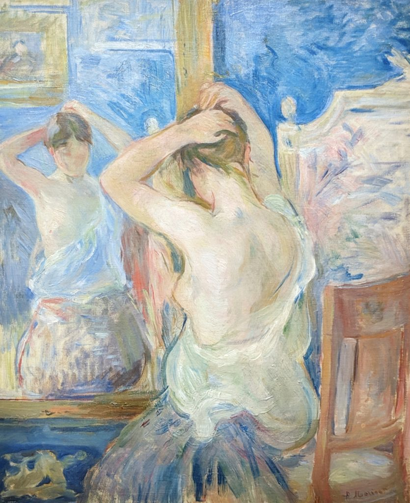 Impressionist - Woman before the mirror.