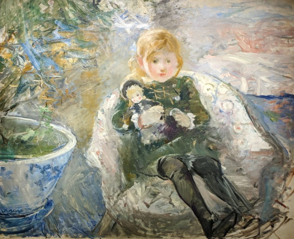 Impressionist - Young Girl with doll