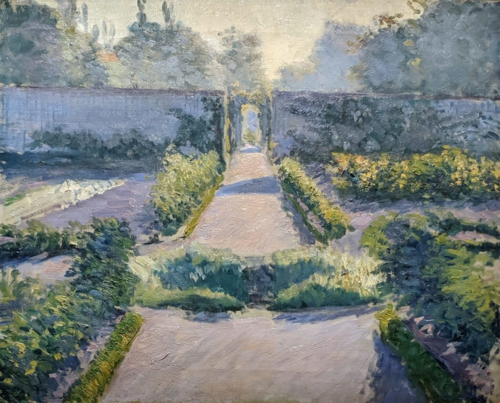 Impressionist - Caillebotte - The Kitchen Garden