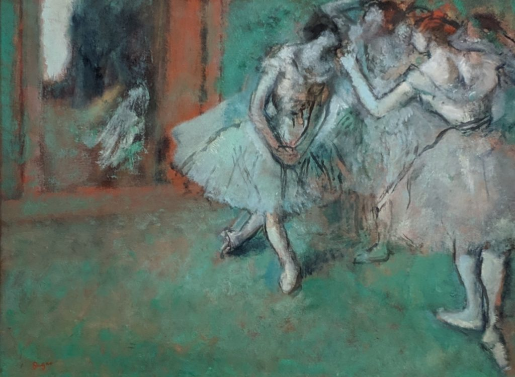 Parisian Portraits - Degas #6