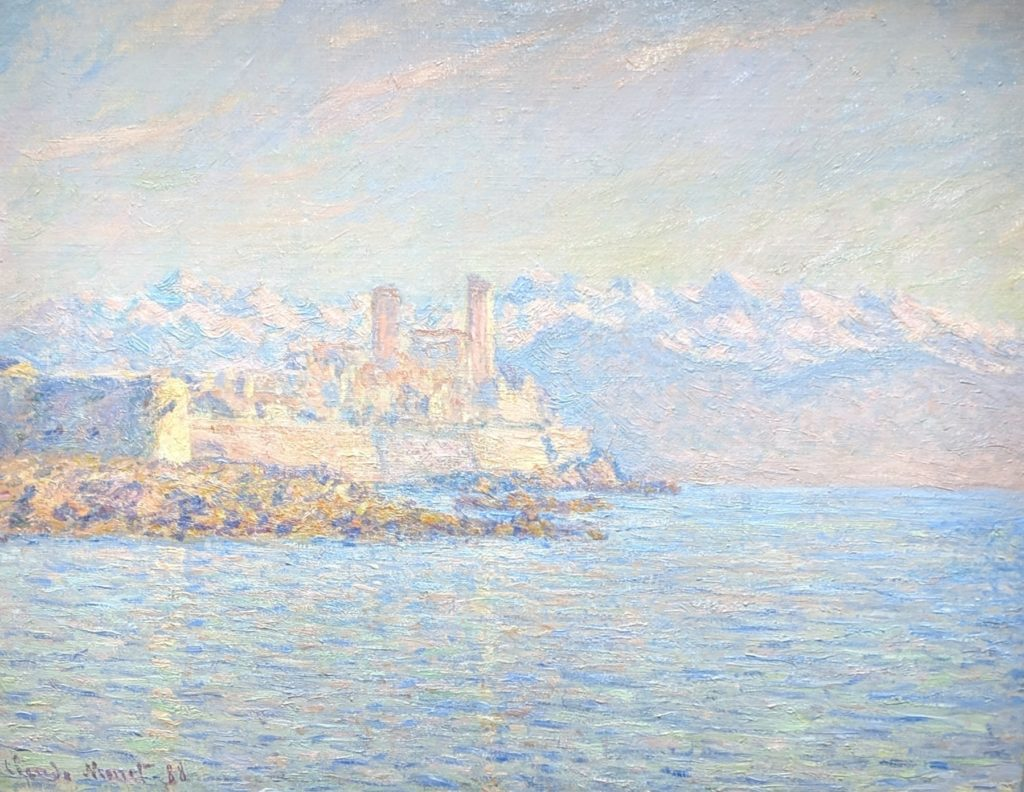 Private Collection - Monet - Antibes