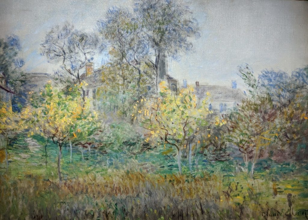 Private Collection - Monet - The Orchard