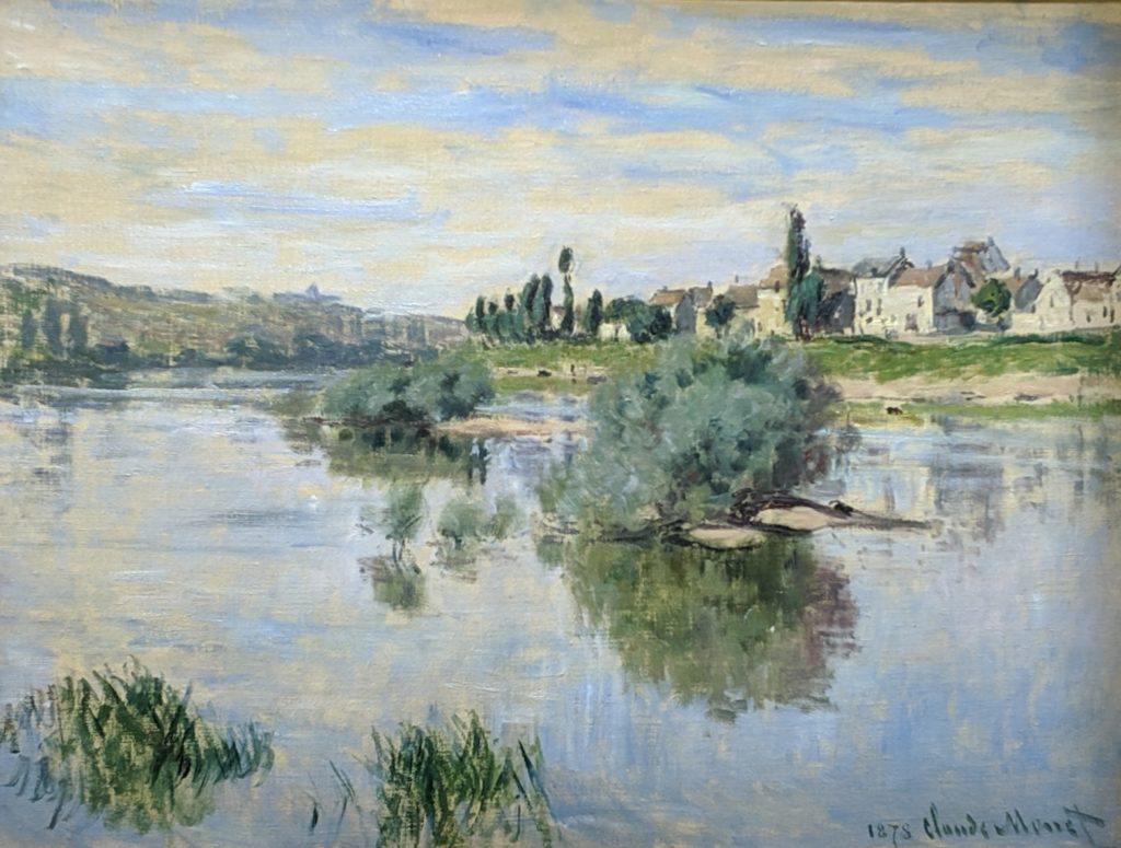 Private Collection - Monet - The Seine at Lavacourt