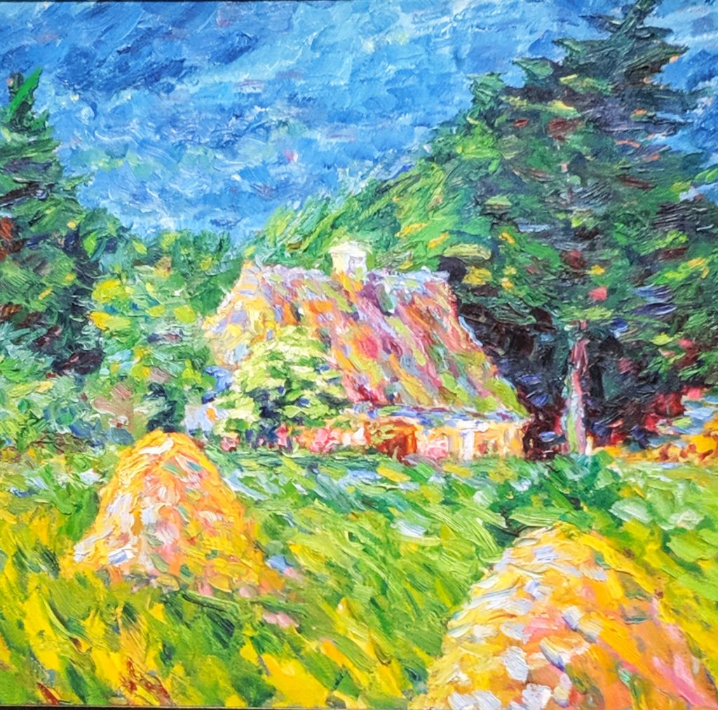 """House by the Woods"", 1908, by Emil Nolde"