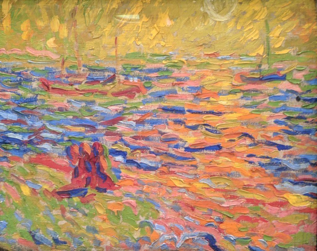 """""""River Landscape"""", 1907, by Max Pechstein"""