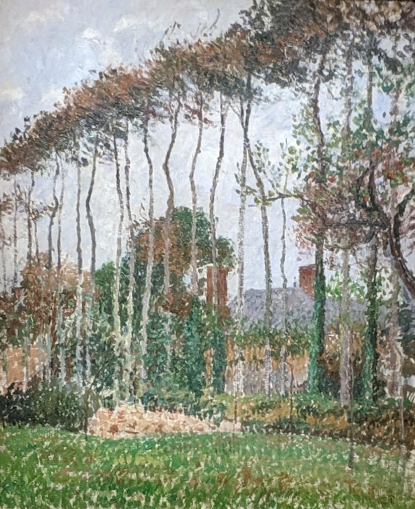 Private collection - Pissarro - Landscape at Varengeville