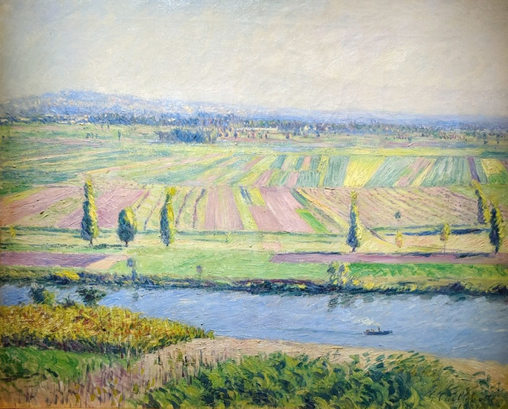 Impressionist - Caillebotte - The Plain of Gennevilliers