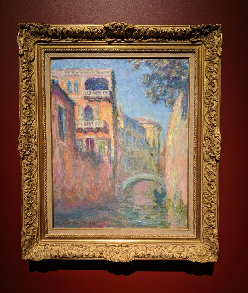 """Monet, """"The Rio della Salute"""" (1908)"""