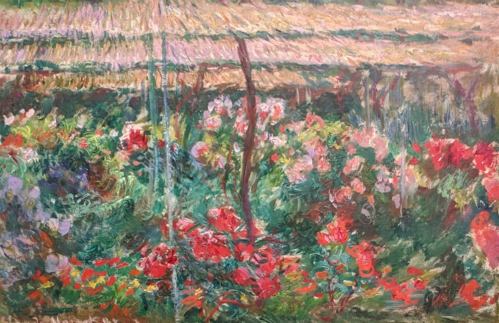 "Monet, ""Peony Garden"" (1887)"
