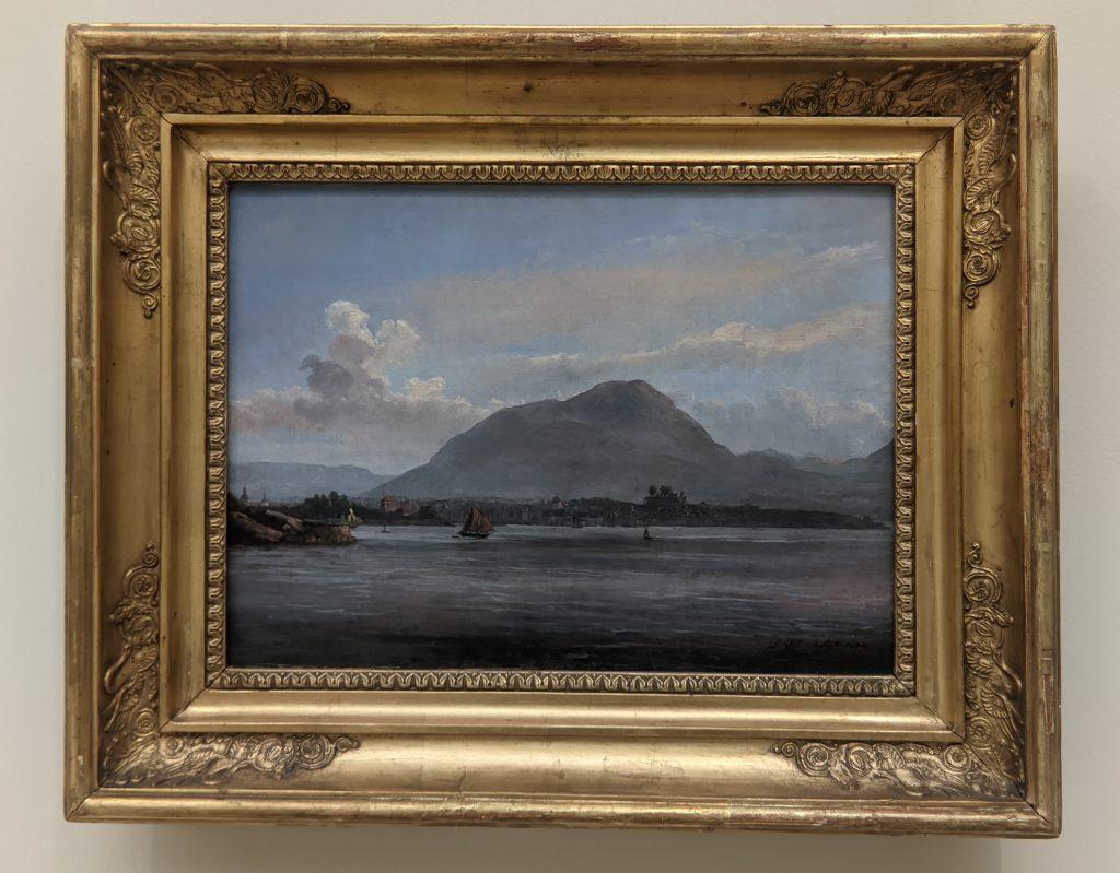 Expressionism, Ansicht Bergens, gesehen von der nordlichen Einfahrt
