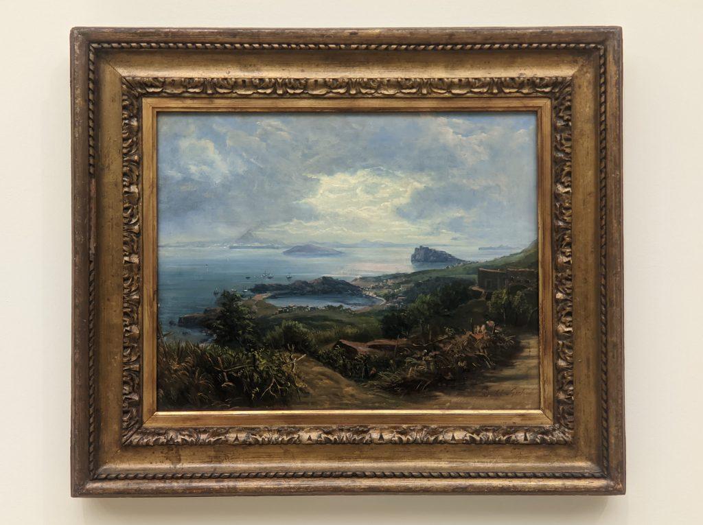 Expressionism, Der Vesuv von Ischia aus gesehen