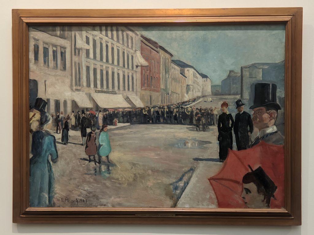 Expressionism, Music on the Karl Johan Street