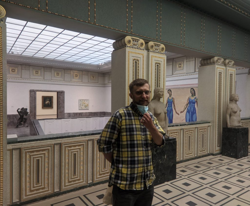 Artur In Expressionism Exhibition