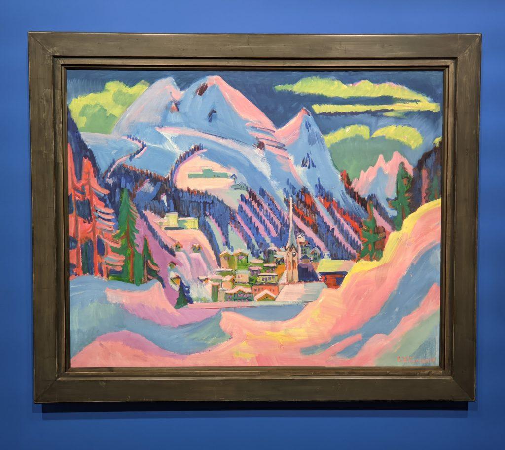 Expressionism, Davos im Schnee