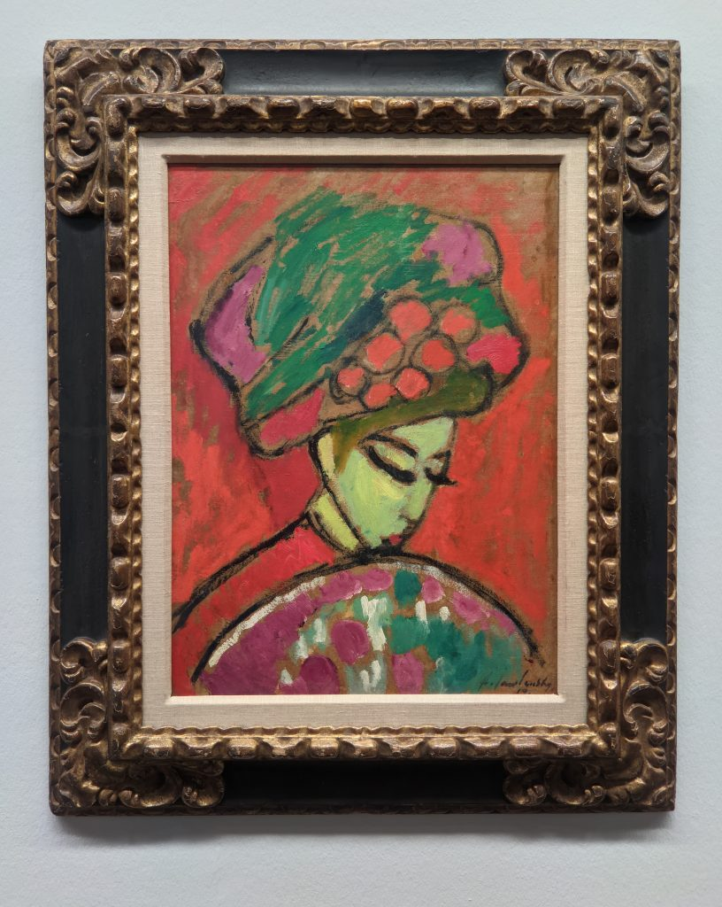 Expressionism, Young Girl with a flowered hat